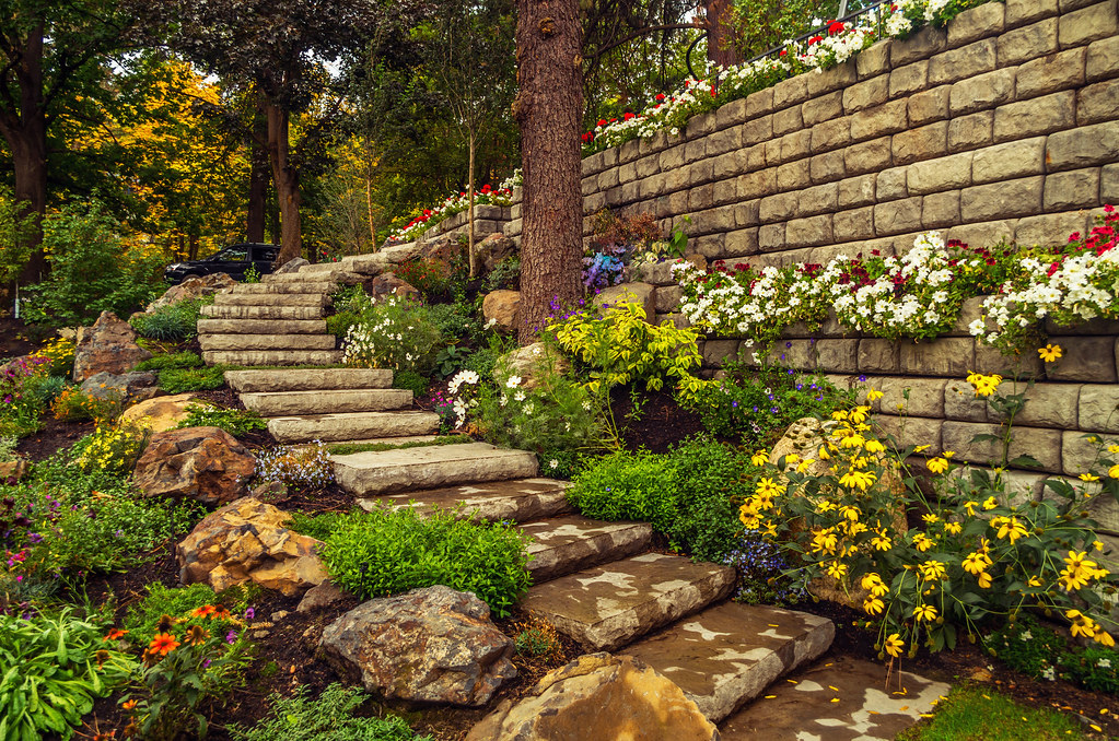 Retaining Walls Services Red Deer